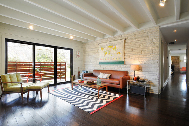 Midcentury Living Room by T.A.S Construction