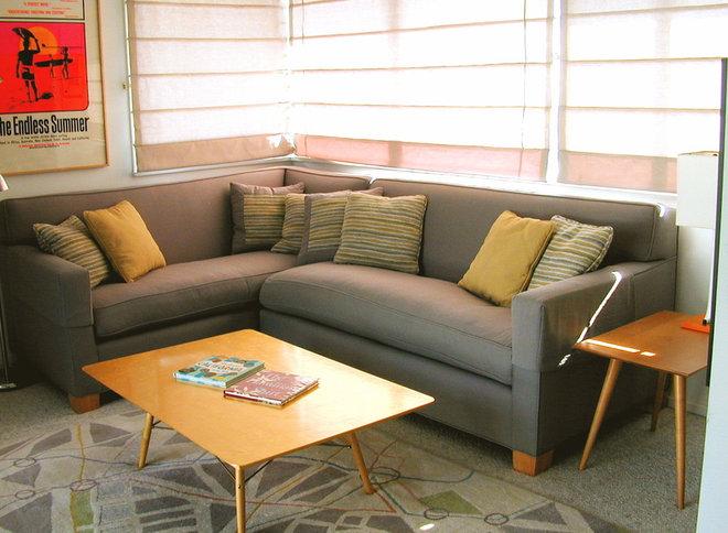 Modern Living Room by Kathryn Waltzer