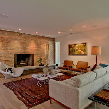 Mid-Century Modern, Whole House Renovation in Spring Mill Indianapolis