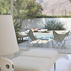 Modern Living Room by Bob Greenspan Photography