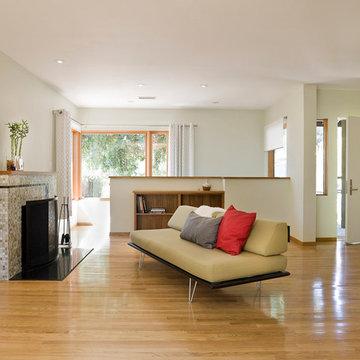 Mid-Century Ranch Living Room