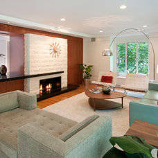 Midcentury Living Room by Ikaria Living