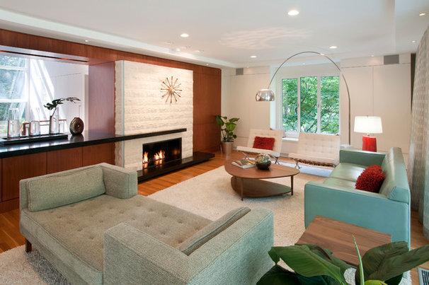 Midcentury Living Room by Ikaria Living