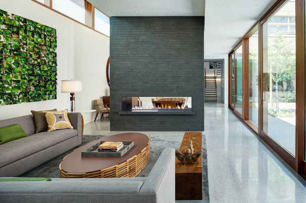 Industrial Living Room by Vinci | Hamp Architects