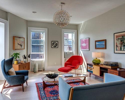 Midcentury Modern Living Room Ideas & Design Photos | Houzz
