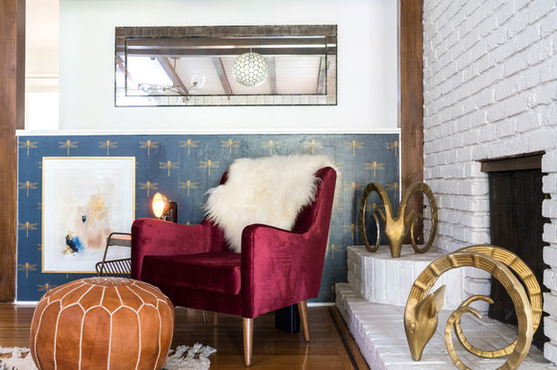 Midcentury Living Room by Oh beauty Interiors