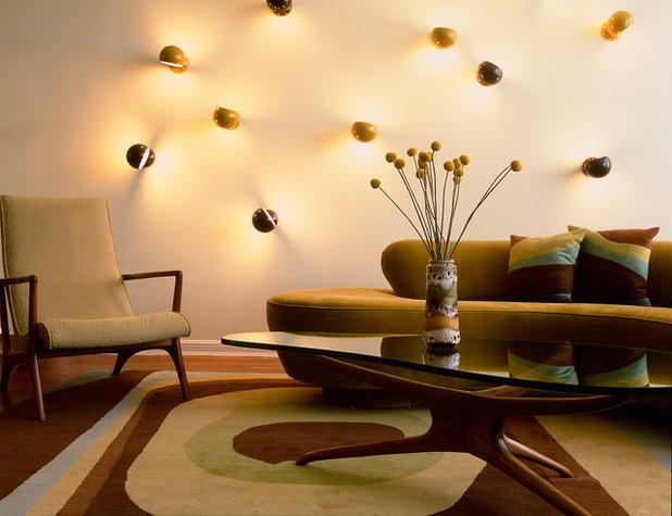 Rétro Salon Midcentury Living Room