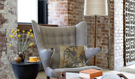 To Paint or Not to Paint: Exposed Brick Interiors