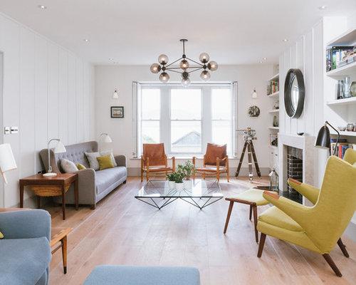 Midcentury Living Room Ideas Photos