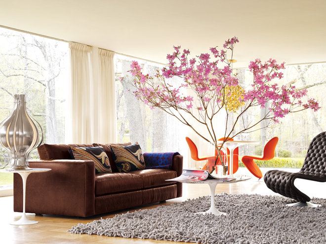 midcentury living room by Design Within Reach