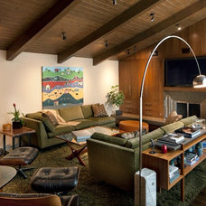 Midcentury Living Room by Susan Jay Design