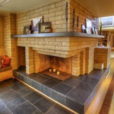 Midcentury Living Room by Mackenzie Collier Interiors