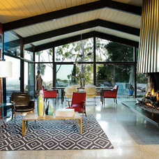Midcentury Living Room by Native Son Design Studio
