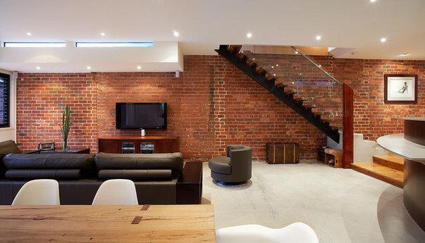 Contemporary Living Room by S2 design