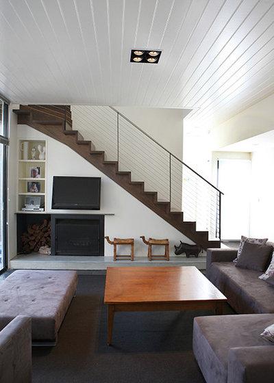 Modern Living Room by Steve Rose Architect