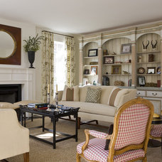 Traditional Living Room by Pamela Gaylin Ryder, Inc