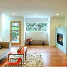 Modern Living Room by Fasse Bldgs