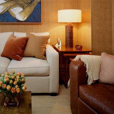 Contemporary Living Room by Cara Zolot Interiors Ltd.