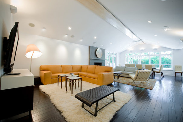 Contemporary Living Room by Darby Design Group