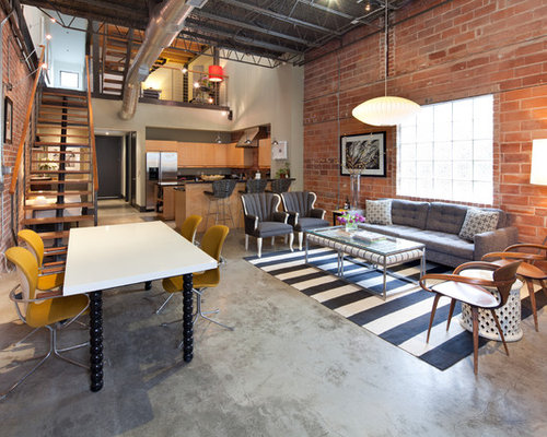 Glam Interior Design industrial glam | houzz
