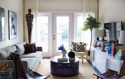 Houzz Tour: 2 Designers Live and Work in This Atlanta Apartment