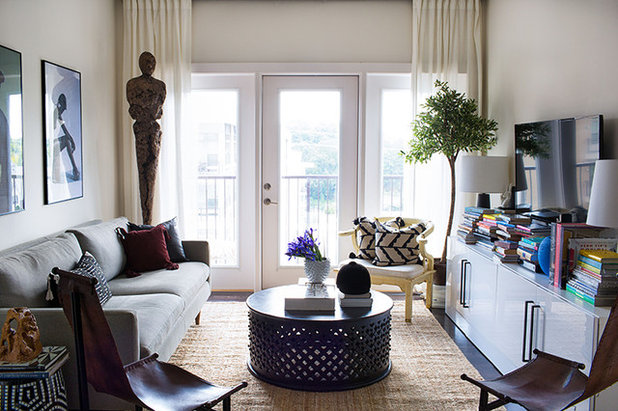Shabby-chic Style Living Room by FORBES + MASTERS