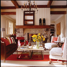 Traditional Living Room by Gradison Design Build