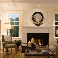 Traditional Living Room by Duckham Architecture & Interiors