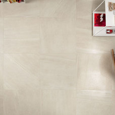 Contemporary Living Room by Euro Ceramic Tile