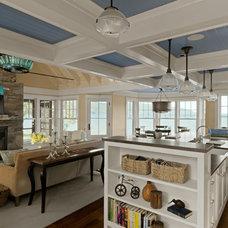 Beach Style Living Room by Cushman Design Group