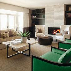 Contemporary Living Room by Milieu Home Goods