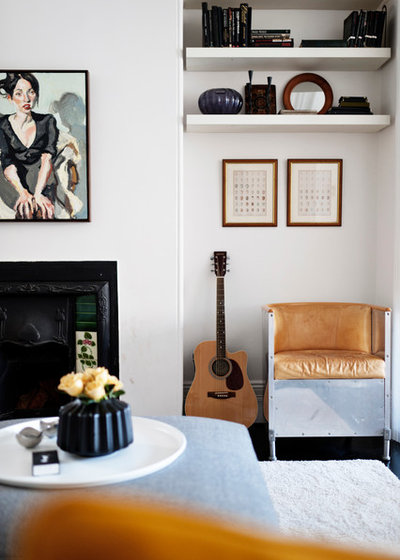 Scandinavian Living Room by ANNA CARIN Design