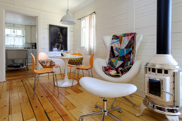 Eclectic Living Room by Sarah Phipps Design