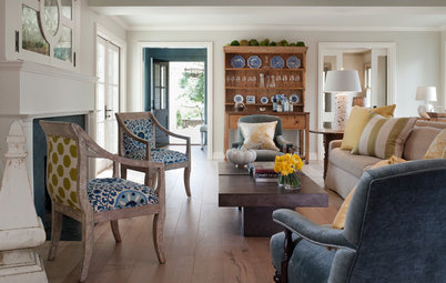 1 Chair + 2 Fabric Patterns = 1 Fabulous Look