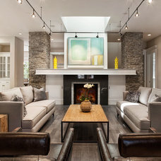 Contemporary Living Room by KCS, Inc.
