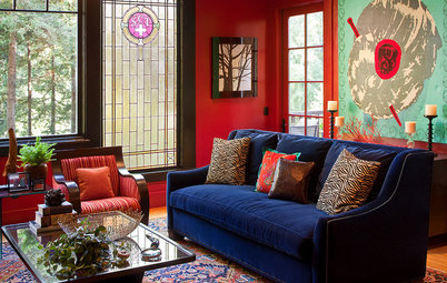 Room of the Day: Connecting With Style in a Former Social-Club Lodge