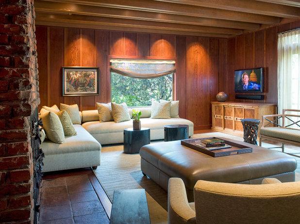Traditional Living Room by Michael Merrill Design Studio, Inc