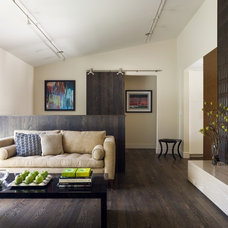 Contemporary Living Room by Jill Phillips Design