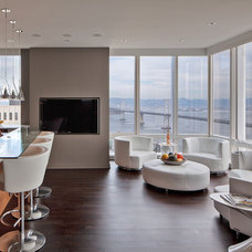 Contemporary Living Room by MB Jessee