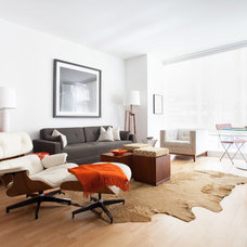Contemporary Living Room by Kat Alves Photography