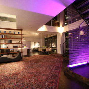 Millennium Tower Loft-Lighting design