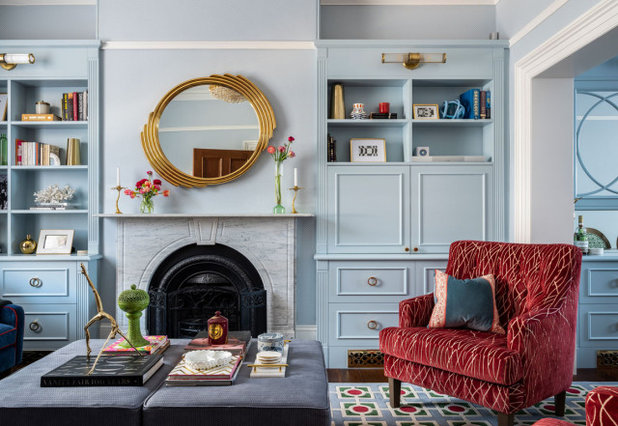 Traditional Living Room by Woods & Warner