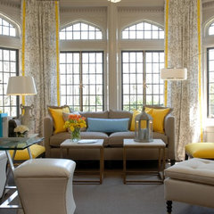 contemporary living room by Eileen Kathryn Boyd
