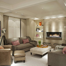 Contemporary Living Room by Gabriele Pizzale Design Inc.