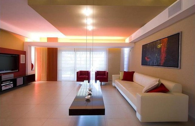 Modern Living Room by HILIT