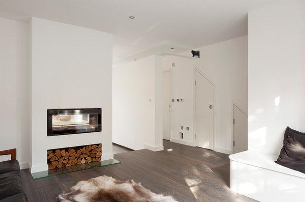 Contemporary Living Room by Scenario Architecture