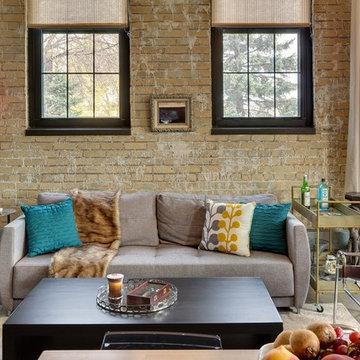 Minneapolis Interior Designer - Eclectic Loft