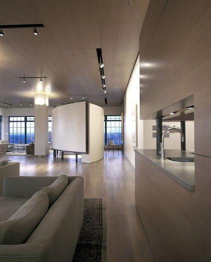 Contemporary Living Room by Gunkelmans Interior Design