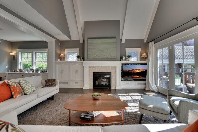 Living Room by Highmark Builders