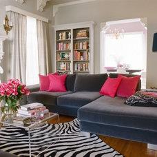 Eclectic Living Room by Kishani Perera Inc.